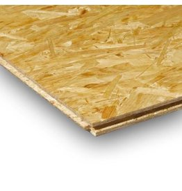 Norbord OSB 3 18 mm 244 x 59cm - mes & groef rondom