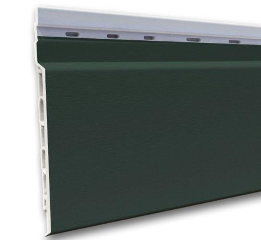 Fortalit kunststof rabat Groen RAL 6009 17 mm 600 x 15cm