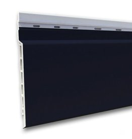 Fortalit kunststof rabat Staalblauw RAL 5011 17 mm 600 x 15cm