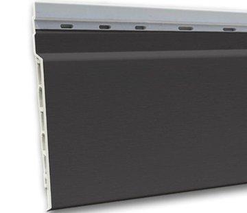 Fortalit kunststof rabat Antraciet RAL 7016 17 mm 600 x 15cm