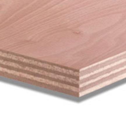 Watervast multiplex okoume voor gevels, daken en carports