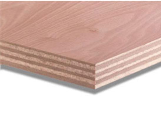 Okoume garantieplaat 250x122cm