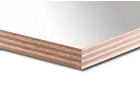 Okoume garantieplaat gegrond 250x122cm