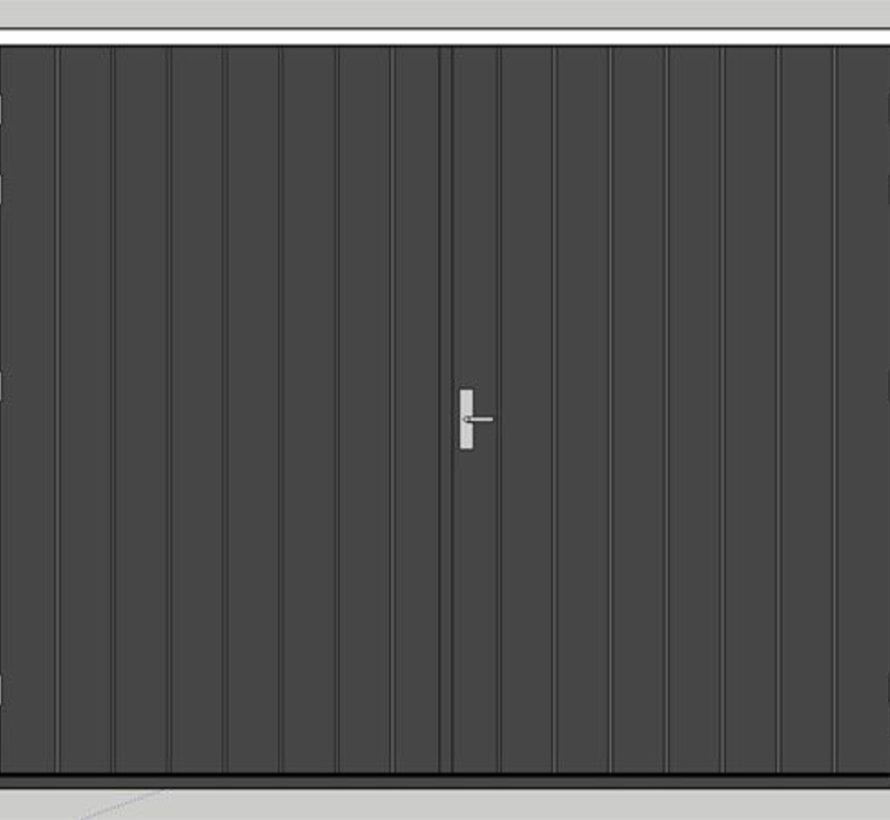 Okoume multiplex deurplaat 40 mm wit-gegrond met aluminium