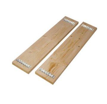 Steigerhout vuren 32 x 200 mm 500cm (voorzien van scaf platen)