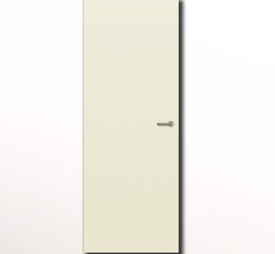 Svedex® Superlak® opdekdeur 2115 mm gebroken wit linksdraaiend