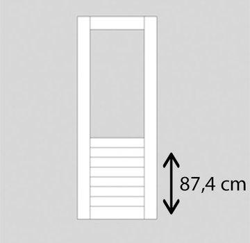 Weekamp buitendeur hardhout WK048 2015 mm