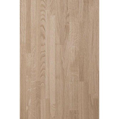 Massief houten werkblad Eiken A/B (gevingerlast)