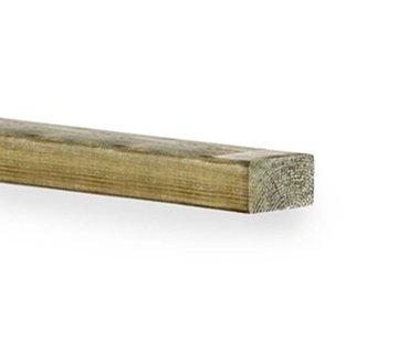 Geimpregneerd vurenhout 50 x 75 mm lengte 300cm
