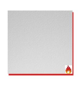 Agnes® Agnes® plafondplaten brandwerend wit linnen 1200 x 600 x 12 mm (4 stuks)