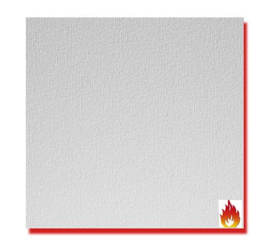 Agnes® plafondplaten brandwerend wit linnen 1200 x 600 x 12 mm (4 stuks)