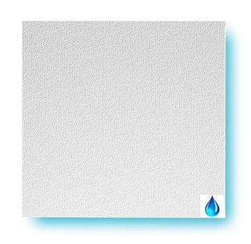 Agnes® plafondplaten vochtwerend wit linnen 1200 x 600 x 12 mm (4 stuks)