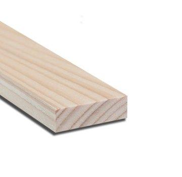 Vurenhout 22 x 50 mm lengte 360cm