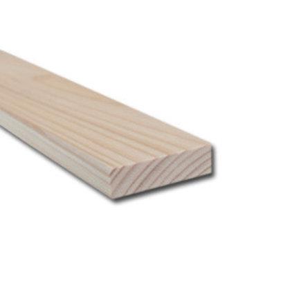 Vurenhout geschaafd 22 x 75mm