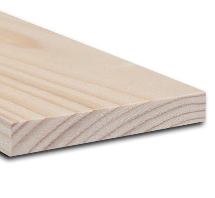 Vurenhout 32 x 200 mm lengte 480cm