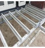 Broodjesvloer betonnen vloerligger type 25 - lengte 305 t/m 400cm