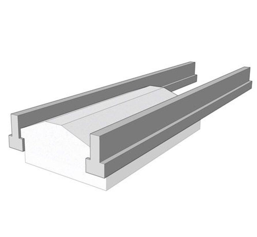 Broodjesvloer betonnen vloerligger type 29 - lengte 405 t/m 500cm