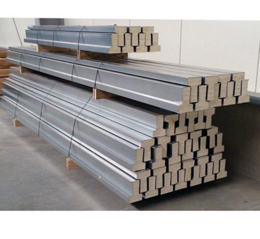 Broodjesvloer stalen vloerligger - lengte 105 t/m 200cm