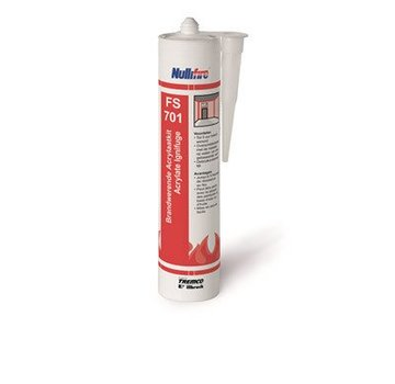 Nullifire brandwerende acrylaatkit wit 310ml