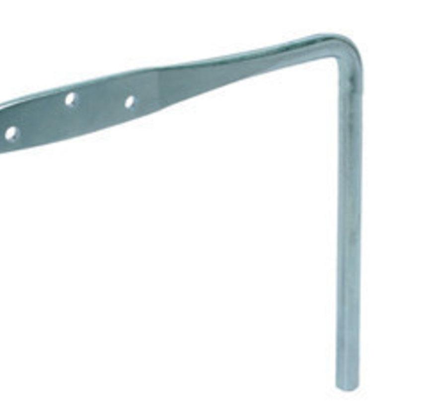 Haakankers gegalvaniseerd 14 mm (5 stuks)