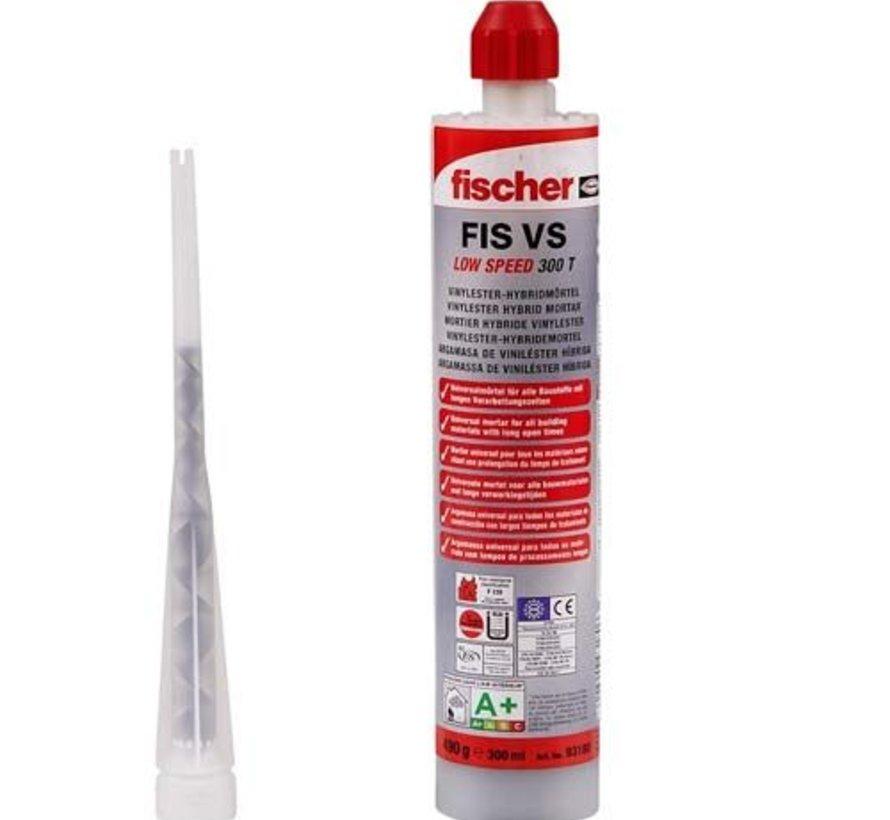 Fischer injectiemortel 300ml voor verankering betonstaal