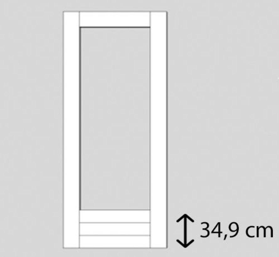 Weekamp buitendeur hardhout WK043 2115 mm
