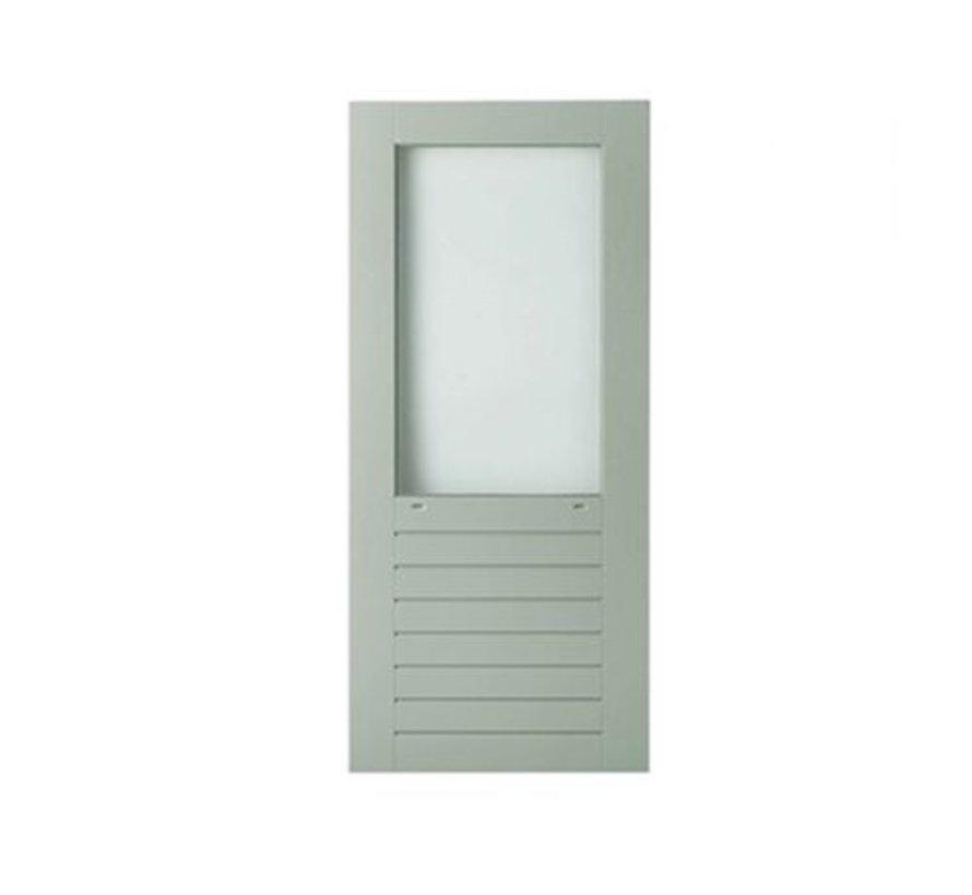 Weekamp buitendeur hardhout WK046 2115 mm