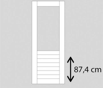 Weekamp buitendeur hardhout WK048 2115 mm