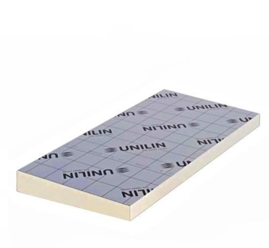 Unilin Utherm afschotisolatie platdak PIR L 70 - 80 mm