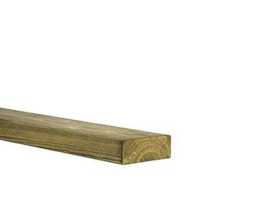 Geimpregneerd vurenhout 32 x 50 mm lengte 420cm