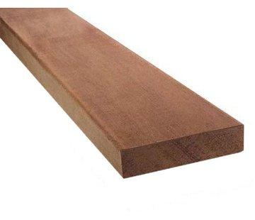 Hardhout geschaafd dikte 19 mm