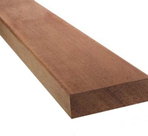 Hardhout geschaafd dikte 28 mm