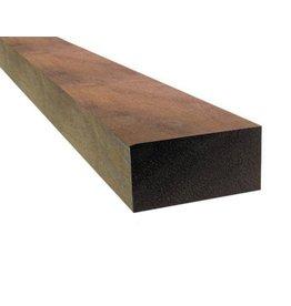 Hardhout azobe geschaafd 50 x 100 mm 450cm