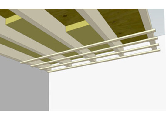 Isolatie plafond