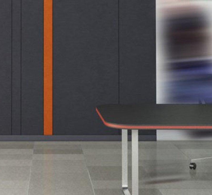 Valchromat® MDF gekleurd oranje door en door 19 mm 244 x 122cm
