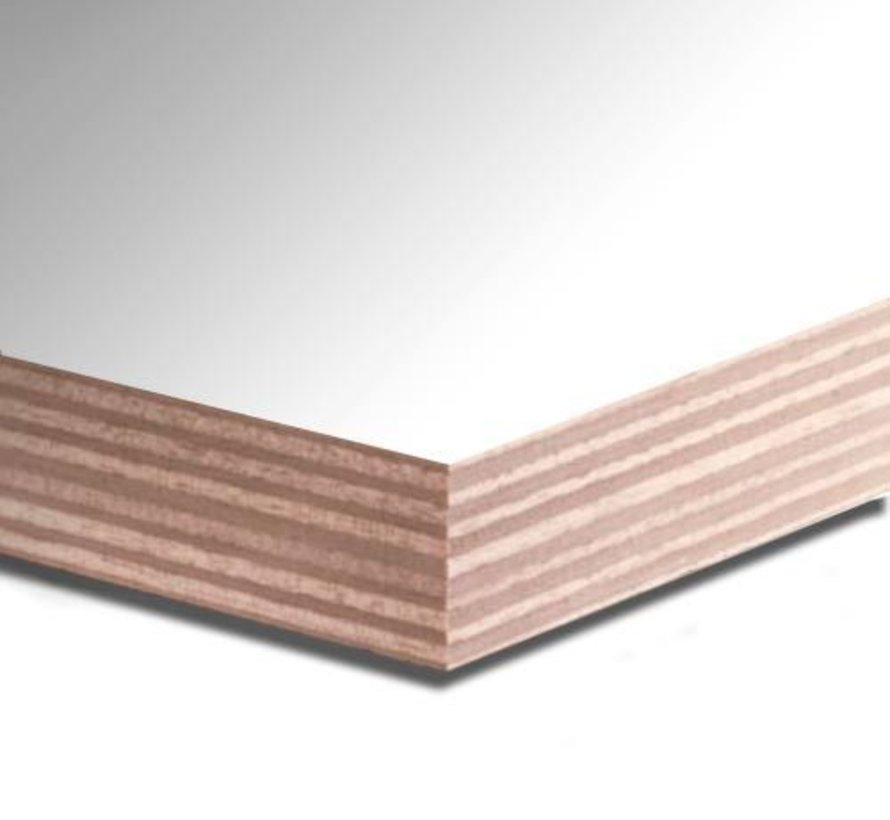 Okoume 40 mm gegrond 250 x 122cm