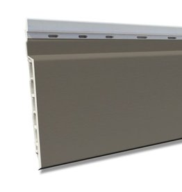 Fortalit Fortalit kunststof rabat Kwartsgrijs RAL 7039 17 mm 600 x 15cm