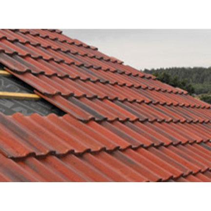 Keramische dakpannen van Monier type OVH 200 vanaf de fabriek