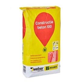 Weber Beamix constructie beton 100 (25kg)