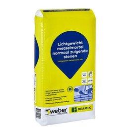 Weber Beamix metselmortel 320 comfort (20kg)