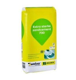 Weber Beamix zandcement 730 (25kg)