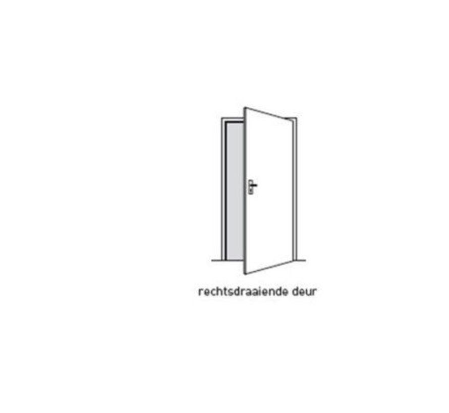 Svedex® Superlak® opdekdeur 2315 mm gebroken wit rechtsdraaiend