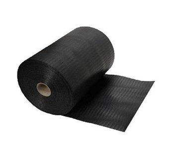 DPC folie 200mm zwart gewaveld 50m¹