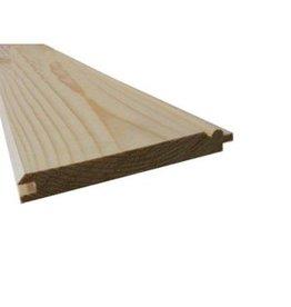 Kraaldeel vurenhout 22 x 125 mm 480cm