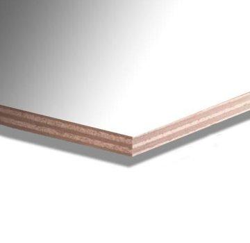 Okoume garantieplaat 12 mm gegrond 310 x 153cm