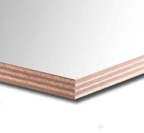 Okoume garantieplaat 18 mm gegrond 250 x 122cm 25jr.