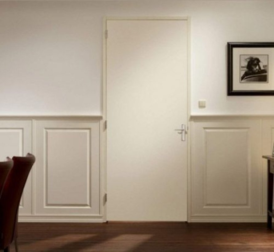 Berkvens® Berklon opdekdeur 2015 mm rein wit linksdraaiend