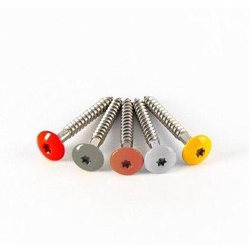 Schroeven RVS 4.5 x 35 mm met bit voor Rockpanel® (100 stuks)