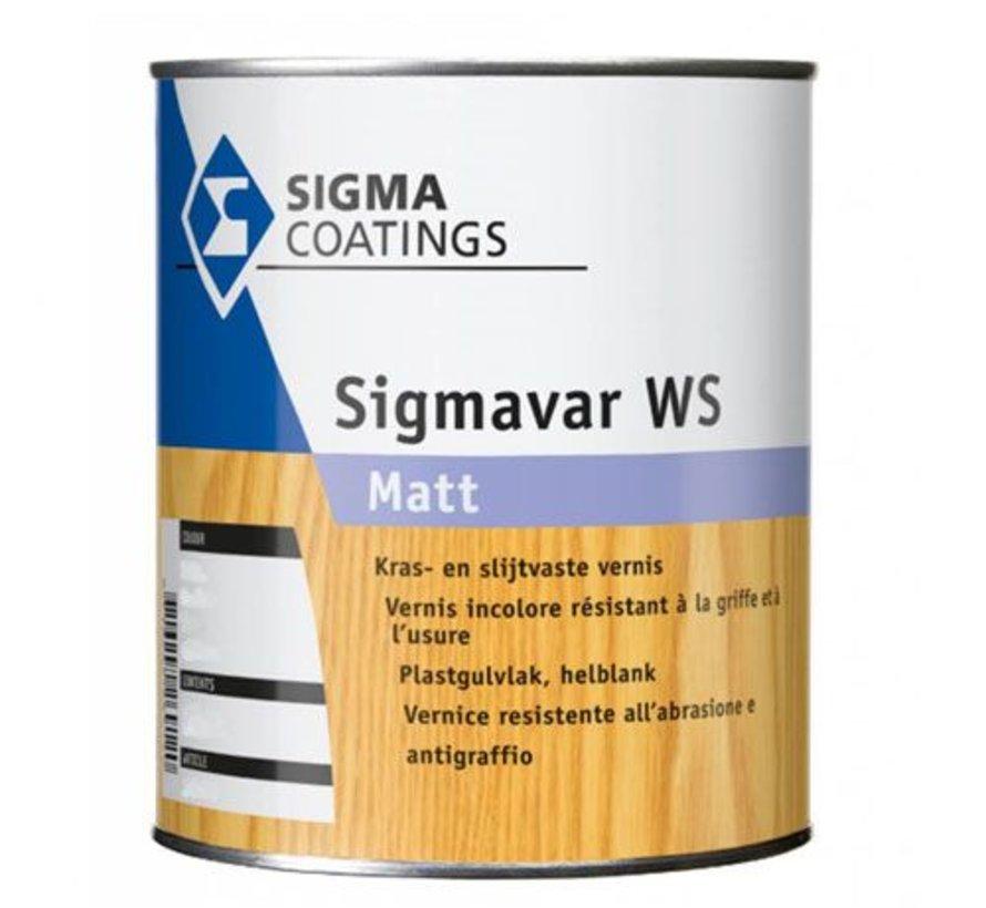 Sigma Sigmavar WS Mat - watergedragen