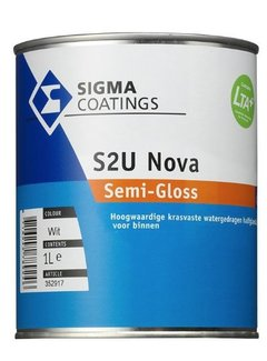 Sigma S2U Nova Halfglans - watergedragen